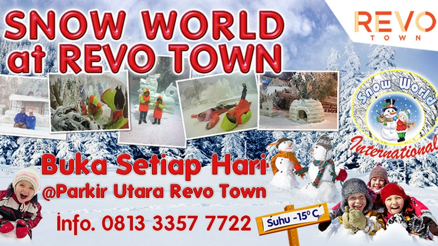 Snow World at Revo Town