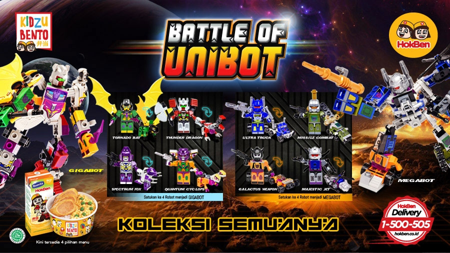 Kidzu Bento - Battle Of Unibot